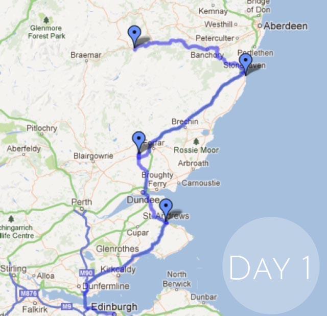 Day 1 Scotland-Escocia