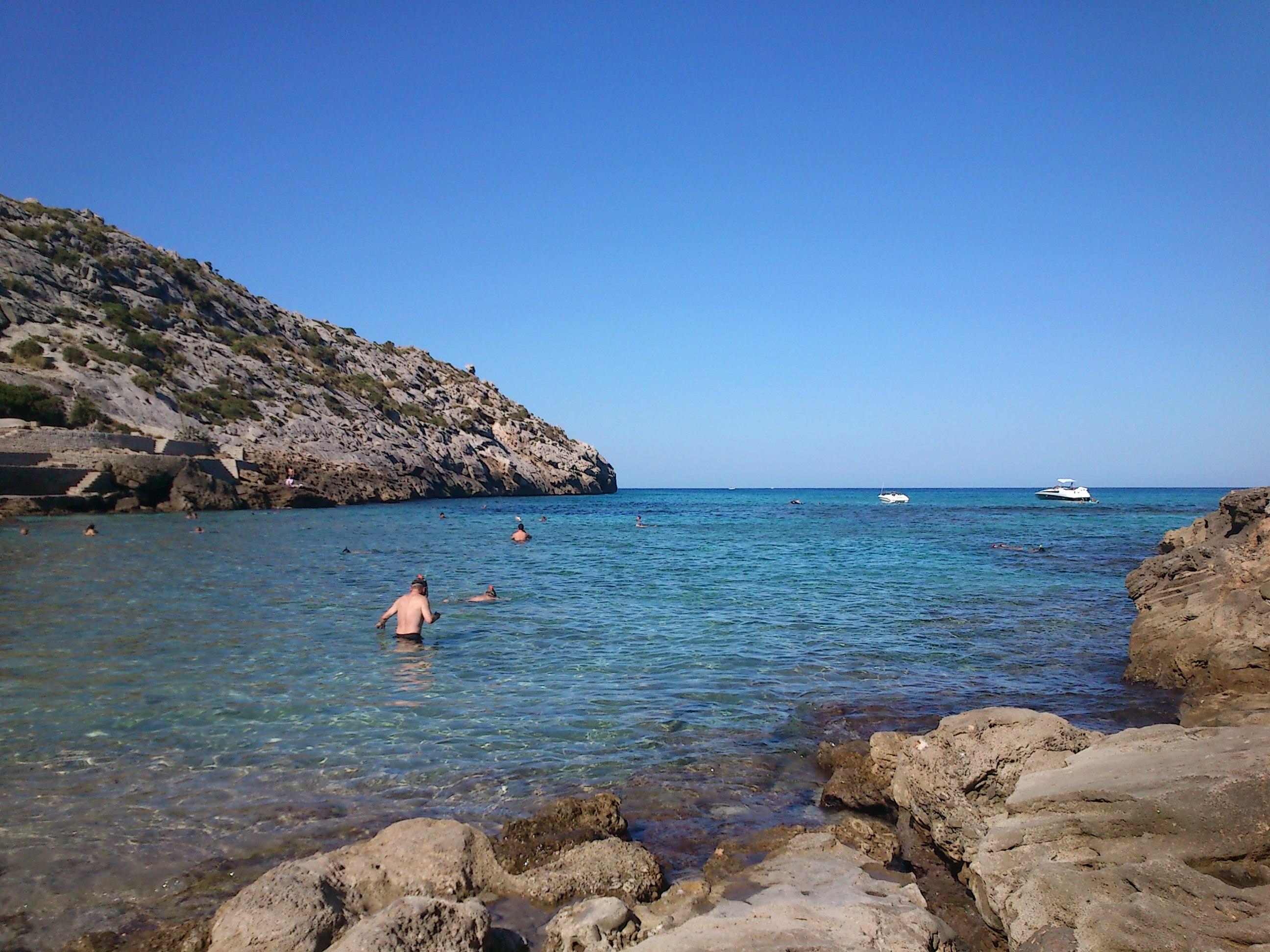 Cala San Vicente Hoposa Niu Mallorca The Wandering S