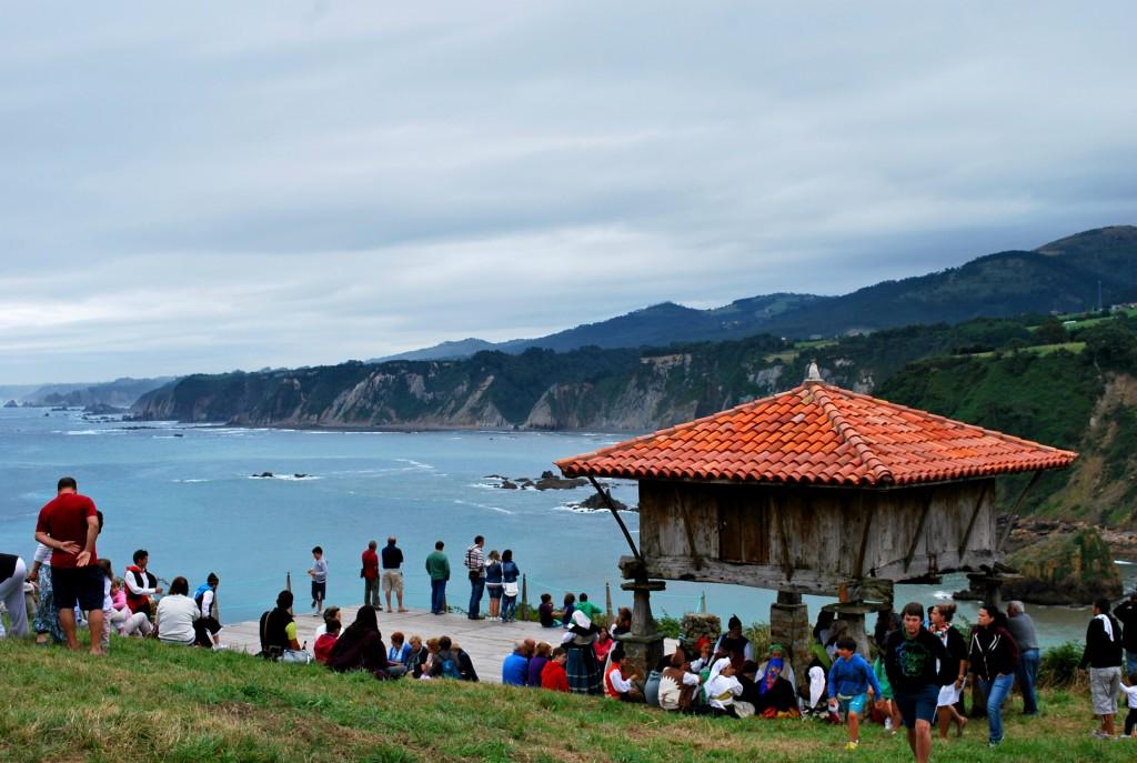Fiesta de la Regalina en Cadavedo (Asturias)