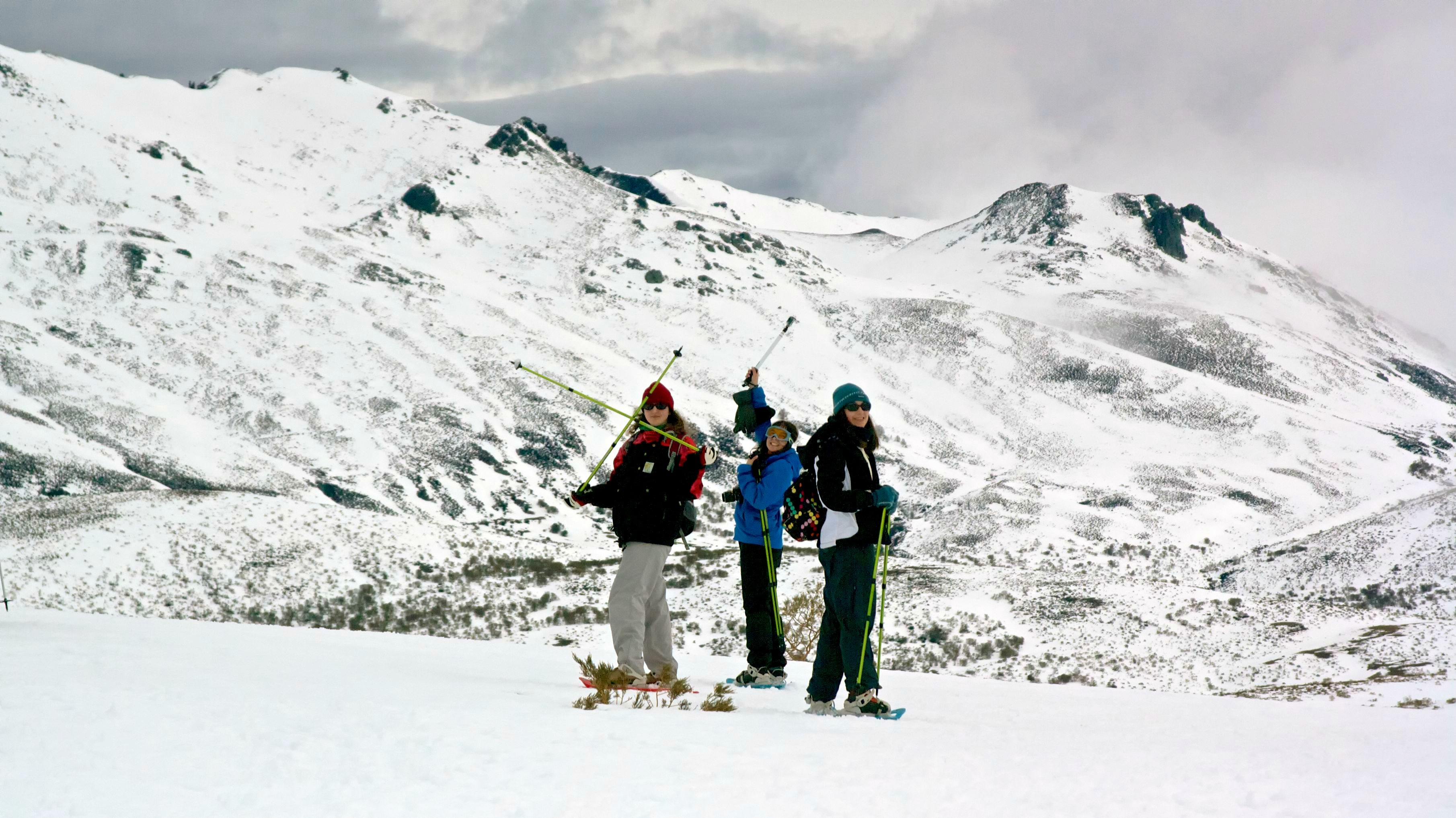 raquetas de nieve por san isidro